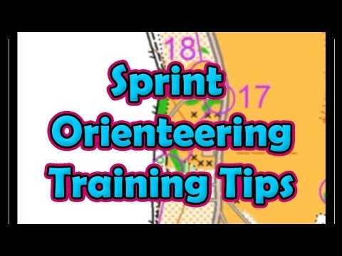 Sprint Orienteering Training Tips