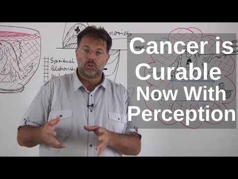 CANCER is curable NOW with perception