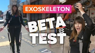 The SuitX exoskeleton made me super strong | Beta Test #1 - CNETTV