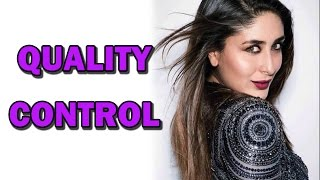 Kareena Kapoor's QUALITY CONTROL! | Bollywood News