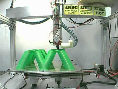 Przykładowy proces drukowania przestrzennego