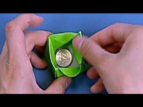 Çocuklar İçin Origami Coin Box (Öğretici) – Kağıttan Arkadaşlar 05