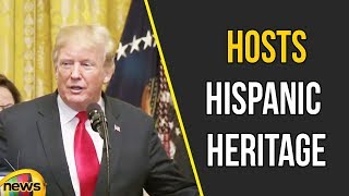 Trump hosts Hispanic Heritage Month celebration | Donald Trump Latest Updates | Mango News - MANGONEWS