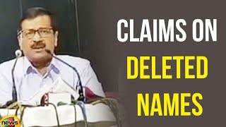 Kejriwal Claims A Cursory look on Deleted Names showed that Most of Them in Voters List | Mango News - MANGONEWS