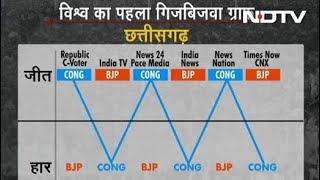 Poll of Exit Polls: छत्तीसगढ़ में कांटे की टक्कर - NDTVINDIA