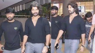 Vijay Devarakonda Comes Mumbai For Shooting SPOTTED At The Airport | Fighter Movie - RAJSHRITELUGU