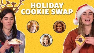Food Network Stars' Holiday Cookies (Giada, Pioneer Woman, Sunny + More) 🎅TASTE TEST - FOODNETWORKTV