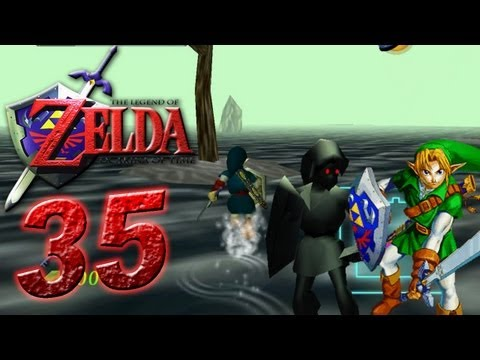 The Legend of Zelda Ocarina of Time - Let's Play The Legend of Zelda Ocarina of Time Part 35: Shadow Link Fight -OkKR7LIEOSY