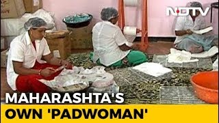 India's Own 'Padwoman' - NDTV