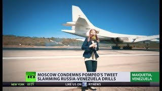 RT correspondent witnesses landing of Russian Tu-160 bombers in Venezuela - RUSSIATODAY
