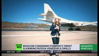 RT correspondent witnesses landing of Russian Tu-160 bombers in Venezuela - RUSSIATODAY