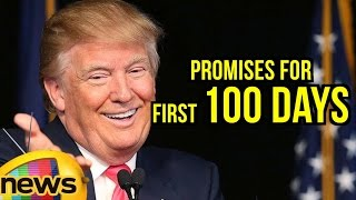 President Donald Trump's Promises For First 100 Days In Office | United States | Mango News - MANGONEWS