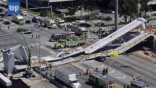 Here's how the collapsed South Florida bridge was built - WASHINGTONPOST
