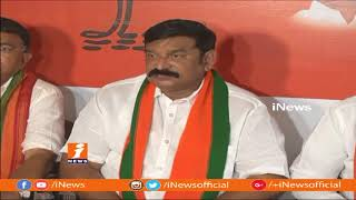 BJP MLA Vishnu Kumar Raju Demands Balakrishna Apologies To PM Modi | iNews - INEWS