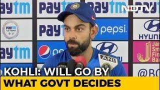 Virat Kohli Breaks His Silence On World Cup 2019 Clash Against Pakistan - NDTV
