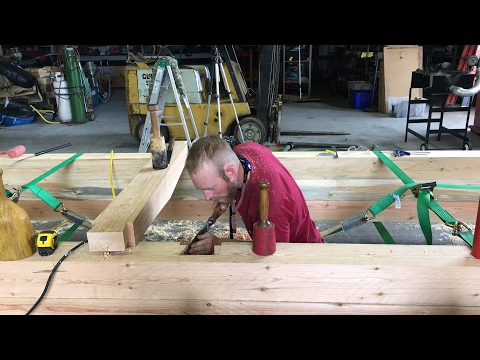 Hang out with us while we Timber Frame