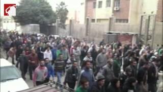 الآلاف يشيعون جثمان شيماء الصباغ إلى مدافن المنارة بالإسكندرية