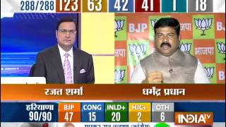 Cabinet Minister Dharmendra Pradhan Member of Parliament speaks with India TV Exclusively. - INDIATV