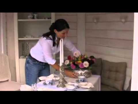 Wohnen & Garten Deko-Video: Tischdeko mit Äpfeln und Dahlien