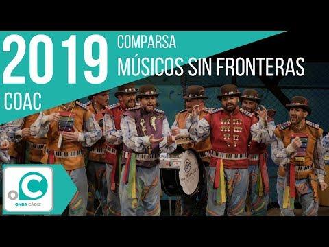 Sesión de Preliminares, la agrupación Músicos sin fronteras actúa hoy en la modalidad de Comparsas.