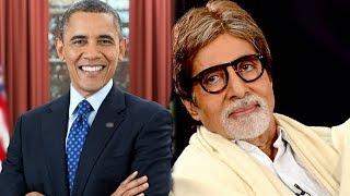 Barack Obama delivers a DDLJ dialogue, Amitabh Bachchan politely denies Bharat Ratna Award