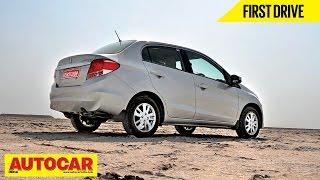 Honda Amaze VXO | First Drive