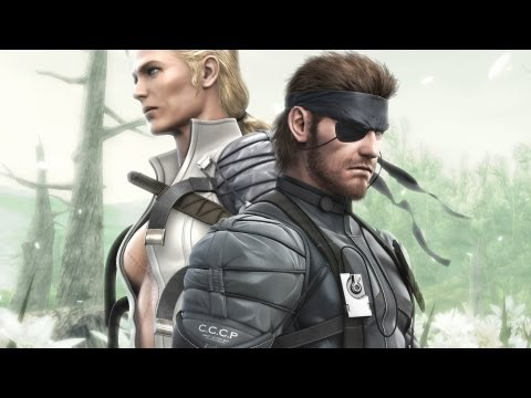 Metal Gear - Solid 3 - All Cutscenes/ Movie in HD