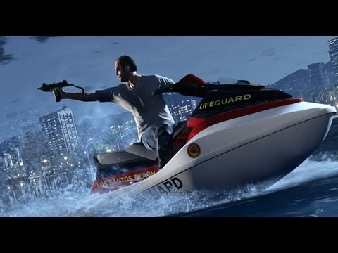 Grand Theft Auto V - Full Game Trailer #2 - GTA5 Gameplay Footage #2 - Los Santos - HD