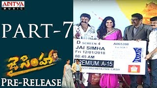 Jai Simha Pre Release Part -7 | Balakrishna, Nayanthara | C Kalyan | K.S.Ravikumar - ADITYAMUSIC