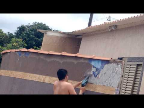 Como remover textura e grafiato