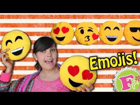 Cojines de Emojis SIN COSER!!