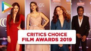 Alia Bhatt, Aditi Rao Hydari and Other Celebs Grace the Critics Choice Film Awards 2019 - HUNGAMA