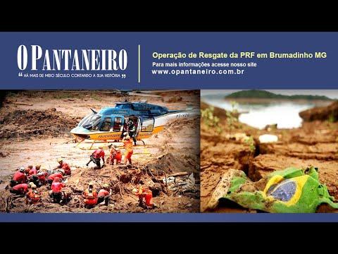 Primeiro dia de operação da PRF em Brumadinho
