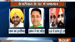 Majithia row: Delhi CM Arvind Kejriwal calls Punjab leaders for meeting today - INDIATV