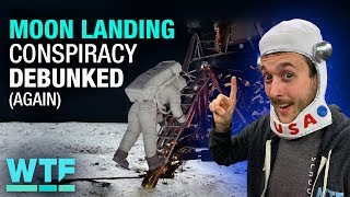 Moon landing conspiracy DEBUNKED (again) | What The Future - CNETTV