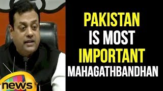 Pakistan is the Most Important Components of Mahagathbandhan Says Sambit Patra | BJP News |MangoNews - MANGONEWS