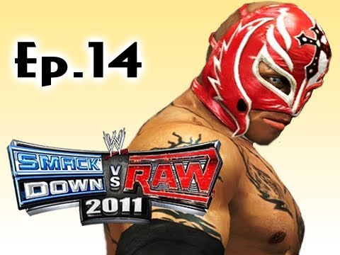 Smackdown Vs Raw 2011: Rey Mysterio Road to Wrestlemania Ep.14 (Gameplay/Commentary)