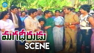 Magadheerudu Movie Climax Scene || Chiranjeevi, Jayasudha, Rao Gopal Rao - IDREAMMOVIES