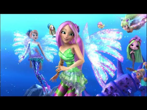 Winx Club:Entering The Infinite Ocean 3D! Preview Clip! Italian/Italiano! HD!