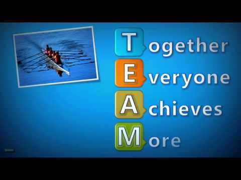 The meaning of TEAM. Together Everyone Achieves More ! 2.0 (Enhanced version)
