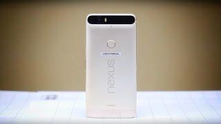 Обзор смартфона Nexus 6p
