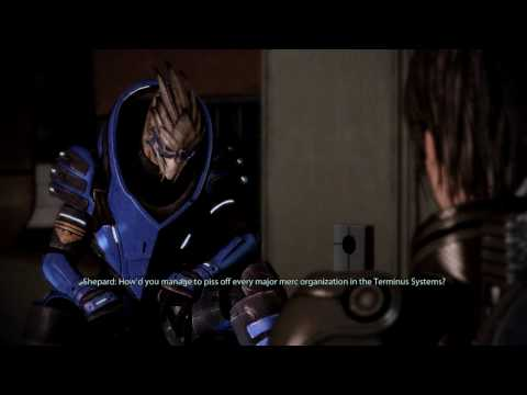 Mass Effect 2 - ALTERNATE Garrus meeting (Never recruited in ME1)