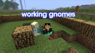 Royalty FreeBackground:Working Gnomes