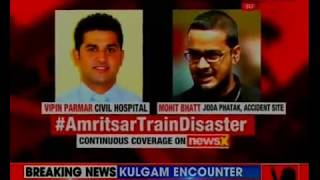 59 killed and many others injured in Amritsar train accident; Punjab CM orders majesterial enquiry - NEWSXLIVE