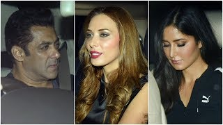 Salman Khan, Iulia Vantur, Katrina Kaif party it up at Arpita Khan Sharma's anniversary bash - TIMESOFINDIACHANNEL