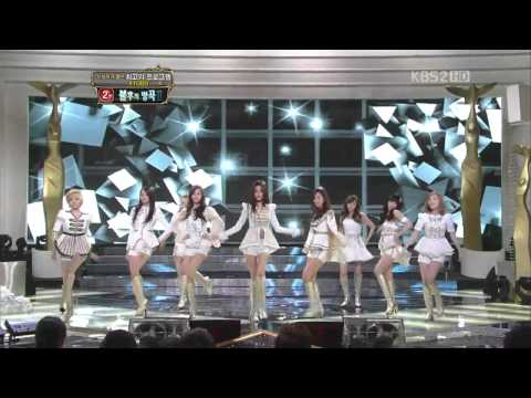 111224 the Boys – SNSD @ KBS 2011
