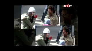 Bang Bang Movie - Hrithik Roshan loses his cool on Katrina Kaif! | Bollywood News