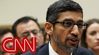 Congress grills Google CEO on bias and data collection - CNN