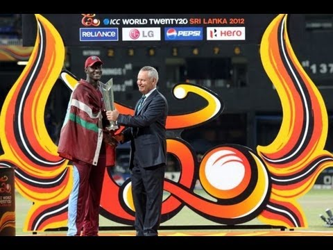 ICC World Twenty20 Qualifier 2012 Trophy Presentations