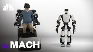 This Humanoid Robot Can Mimic Human Movement In Real Time | Mach | NBC News - NBCNEWS
